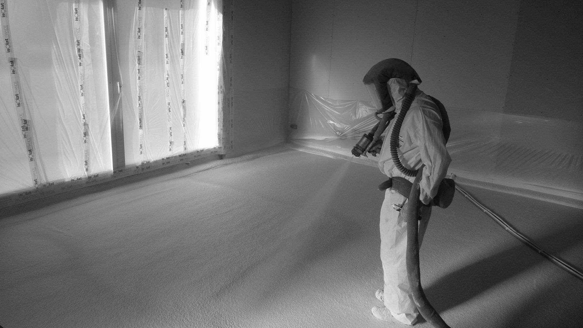 isolation projection sol entreprise d'isolation en loire atlantique mayenne calvados ille et vilaine